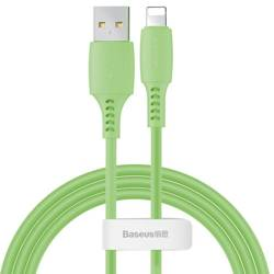 Baseus Colourful Cable USB / Lightning 2.4A 1.2m green (CALDC-06)